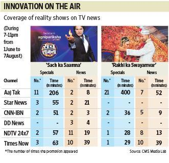 Promoting soap operas on TV news, other shows