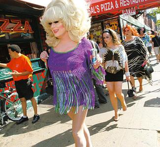 Party town: Drag queen performers at HOWL! Angela Jimenez / Getty Images / AFP