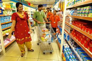 Supermarket culture: The ministry of small and medium enterprises has said in a note that an estimated 40 million small retailers will lose employment opportunities with the coming of large and foreig