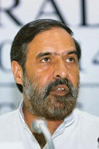 Engaging process: Commerce minister Anand Sharma announcing the foreign trade policy in New Delhi on Thursday. PTI