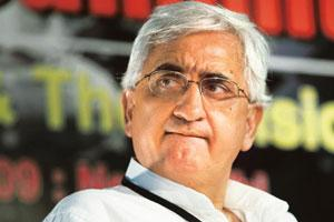 Backing the deal: Minister for corporate affairs Salman Khursheed said on Monday that there was no sign of any accounting fraud at Maytas, and that money had not been transferred into the firm from Sa