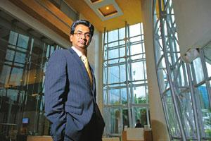 Window of opportunity: Microsoft India's managing director Rajan Anandan says the firm currently has a customer base of 1,500 in the domestic ERP and CRM market, three years after its entry into the s