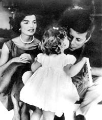 Candid camera: The Kennedys captured in a moment. AFP