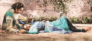 Lovelorn: The author says Mughal-e-Azam is unmatched in technique among films of its era.