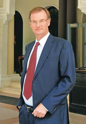 Expansion plan: EMC Corp. chief financial officer David Goulden. Hemant Mishra / Mint