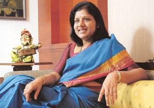 Major plan: ICICI Venture's managing director and chief executive officer Vishakha Mulye plans to cap the size of the $810 million India Advantage Fund Series 2 at $583 million, 72% of its original co