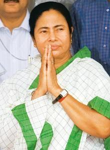 Clearing the air: Mamta Banerjee said on Monday that an expert committee on financing had submitted its initial report. Ramesh Pathania / Mint.