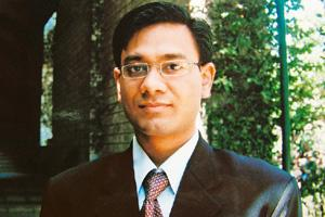 Optimistic: After losing his job at Lehman, Shobhit Gupta teamed up with a friend to launch Twish--an education venture.