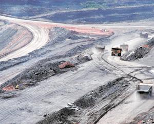 Sourcing coal: An undated photo of mining operations in Venezuela. Knowledge Infrastructure Systems has alleged that MMTC's tender seeking import of 12.5 million tonnes of coal for NTPC favours overse