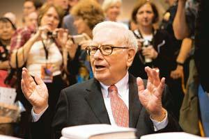 No regrets: Chairman and chief executive officer of Berkshire Hathaway Warren Buffett. Andrew Harrer/Bloomberg