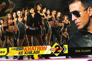 Dangerously addictive? Khatron Ke Khiladi 2 opened its latest season with a TV viewership rating of 4.37% and averaged 4.11% for the week.