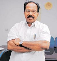 Neutral stand: Union law minister Veerappa Moily. Ramesh Pathania/Mint