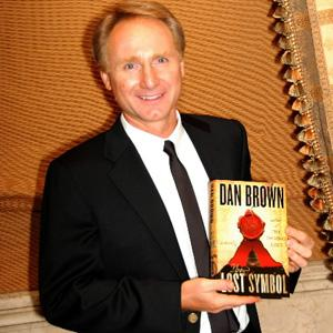 Another book: Dan Brown's The Lost Brown may not be as enjoyable as his earlier book The Da Vinci Code. Paul Goguen / Bloomberg