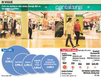 Fast forward: Pantaloon Retail (India), which plans to raise Rs1,000 crore, is one of many firms in line. Graphics: Sandeep Bhatnagar, Photo: Ramesh Pathania/Mint