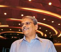 Strong defence: Infosys CEO Kris Gopalakrishnan says where his company has failed is in scaling up the IT consulting business. Hemant Mishra/Mint