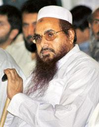 Sticking point: Lashkar-e-Taiba founder Hafiz Mohammad Saeed. India is pressing for action against the terror mastermind. Faisal Mahmood / Reuters