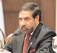 No exception: Minister for commerce and industry Anand Sharma.