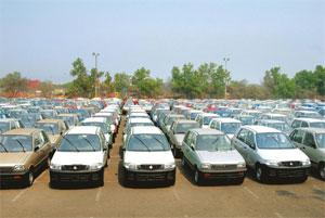 In demand: Maruti cars lined up for exports at JNPT Port. Ashesh Shah / Mint