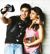 Clannish: Kapoor (left) and Sharma in a still from Wake up Sid.