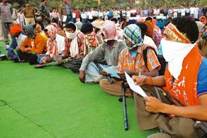 Tough act: Can the anti-Naxal campaign force rebels in Chhattisgarh to surrender? AP