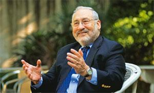 Copenhagen worry: Economist Joseph Stiglitz says the most difficult issue regarding climate change talks is not a scientific disagreement about what needs to be done, but figuring out a way of burden