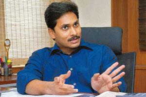 Growing interests: Y.S. Jagan Mohan Reddy controls Bharathi Cement and is an MP from Kadapa, where the cement plant is being built. Bharath Sai / Mint