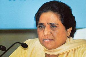 Blessing in disguise? Uttar Pradesh chief minister Mayawati. Nand Kumar / PTI