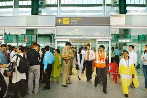 Financial settlement: A view of the Bengaluru International Airport. Hemant Mishra / Mint