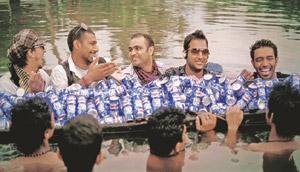 Playing it safe: Pepsi's latest ad campaign has been shot in Kerala.