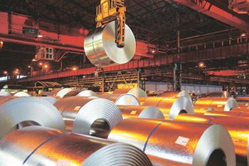 Upward spiral: Increasing demand for automobiles, refrigerators and air conditioners and rising farm incomes are boosting sales of steel.
