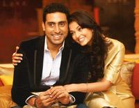 Joint package: Abhishek Bachchan and Aishwarya Rai will jointly endorse a new range of Lux soaps containing beauty oils. Manoj Patil / Hindustan Times