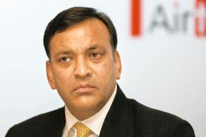 Tough battle: Bharti Enterprises' Akhil Gupta says that the company is convinced that nothing that is happening on the tariff front is new and it has seen such price wars from time to time. Ramesh Pat