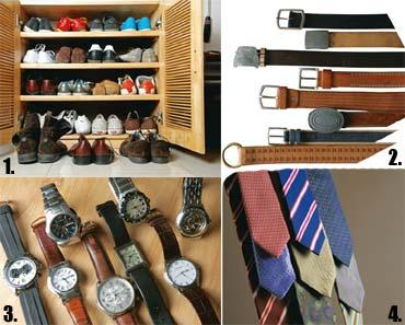 Collector's edition: Som collects vintage sneakers, chooses ties from a textile designer's perspective, doesn't like watches with very large dials, and wears black belts only when he's bored with brow