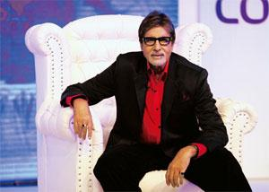 Star attraction: Bigg Boss 3, hosted by Amitabh Bachchan, has maintained an average 3.2% TRP since its launch. Puneet Chandhok / HT