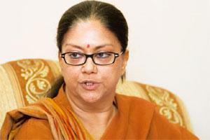 "Scathing attack: Raje on Friday handed over a three-page letter addressed to the party president and members of the parliamentary board in which she alleged the BJP was ""lacking in internal democracy"""