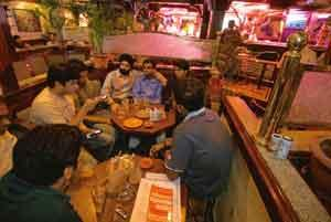 City limits: Sophie's Bangalore is the outsider's Bangalore, crammed with buildings, pubs and immigrants. Madhu Kapparath / Mint