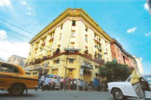 Reaping windfall: A file photo of the Calcutta Stock Exchange. The open offers will give shareholders of these three firms a chance to make a killing out of legacy assets because trading in these stoc