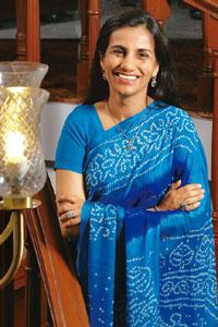 Executive compensation: ICICI Bank MD and CEO Chanda Kochhar has been offered an annual salary between Rs84 lakh and Rs1.62 crore. Abhijit Bhatlekar/Mint