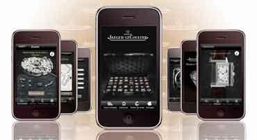 Watchmaker: Jaeger Le-Coultre's application is free to download.