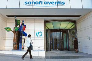 Legal battle: The Sanofi-Aventis SA headquarters in Paris. The firm is locked in a tussle over the vaccine with Novartis Healthcare. Antoine Antoniol/Bloomberg