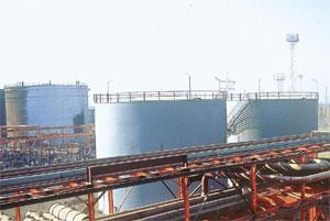 Exclusive negotiations: Essar's oil refinery complex at Vadinar, India.
