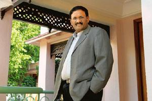 Overcoming hurdles: Ramky Enviro Engineers' executive director M. Goutham Reddy. Hemant Mishra / Mint