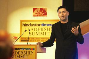 Firm stand: Nikesh Arora says the need to innovate is what drives Google and not being 'evil' is something all its employees believe in. Sanjeev Verma / Hindustan Times