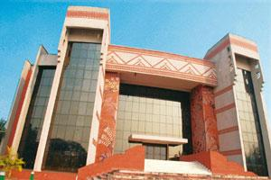 Job offers: The auditorium at IIM Calcutta. The first day of summer placements saw RBS selecting 11 students for internship. Indranil Bhoumik/Mint