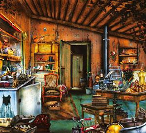 Hide and seek: Hidden object games rely on complex, layered artwork.