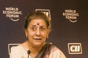 Makeover ahead: Information and broadcasting minister Ambika Soni. Ramesh Pathania / Mint