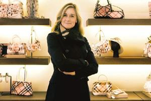 Revamping business: Burberry's chief executive officer Angela Ahrendts. Hazel Thompson / NYT