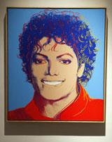 Michael Jackson by Any Warhol