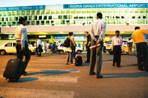Setting a precedent: A file photo of the Indira Gandhi International Airport in New Delhi. By granting the airport developer an extension, the regulator has effectively rendered the review of the proj