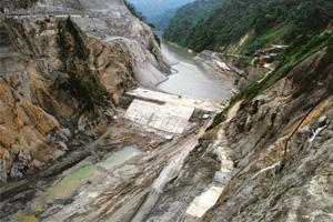 Water woes: A file photo of the 2,000MW Subansiri lower project in Arunachal Pradesh. NHPC plans to develop hydropower projects that will generate 6,500MW of power in the state. Indranil Bhoumik / Min